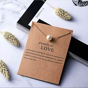 Jewelry - Make a Wish Necklace - Pearls Of Love